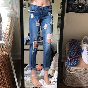 Lucky Brand One of a Kind Distressed Jeans